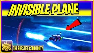 How To FLY AN INVISIBLE PLANE In Fortnite Season 7 using this New Glitch! (Ps4, Xbox One, PC)