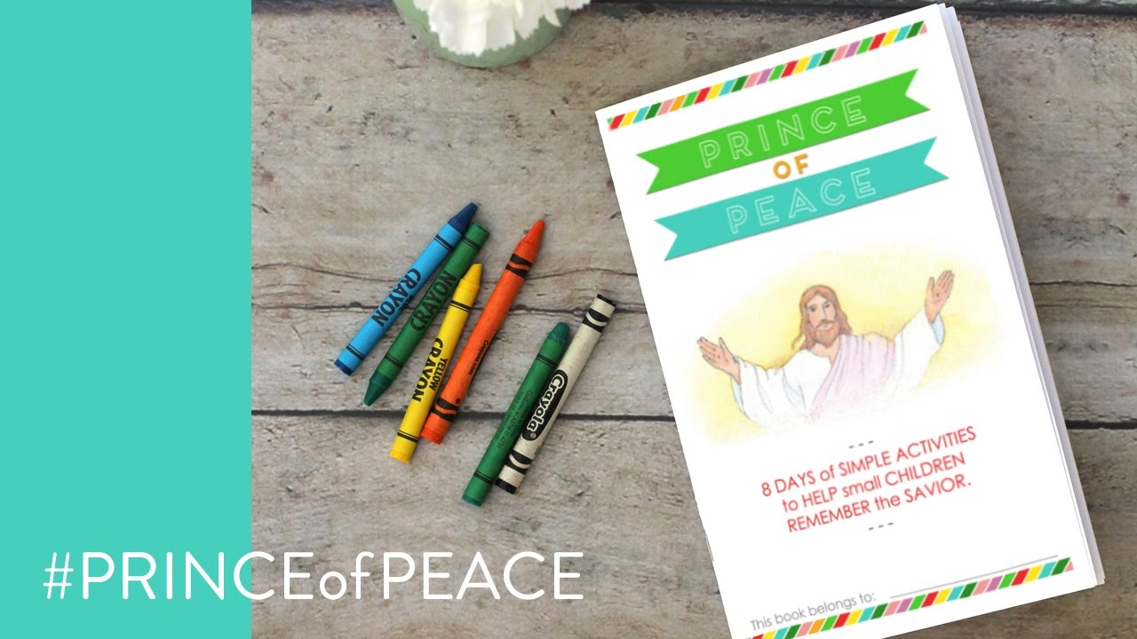 How to staple your PRINCE of PEACE activity booklet for kids ...