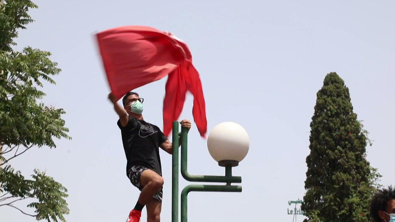 مظاهرات حاشدة في تونس مناهضة لحكومة المشيشي ولحركة -النهضة-  - نشر قبل 7 ساعة