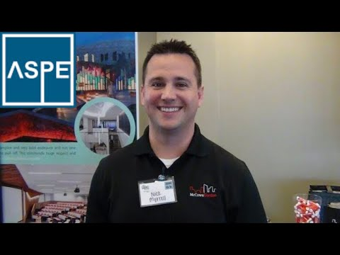 Estimator Interview, Nick Morrell McCownGordon Construction, ASPE Chapter 32 Kansas City Estimators