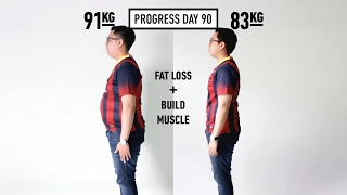 Progress Diet Harly Day 0 - 90 (Fat Loss)