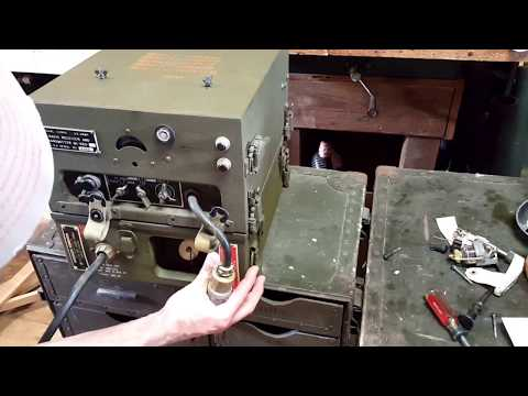 U.S. Signal Corps Jeep Radio Power Supply Configuration for BC-620 / PE-120 / SCR-510 WW2 WWII Korea