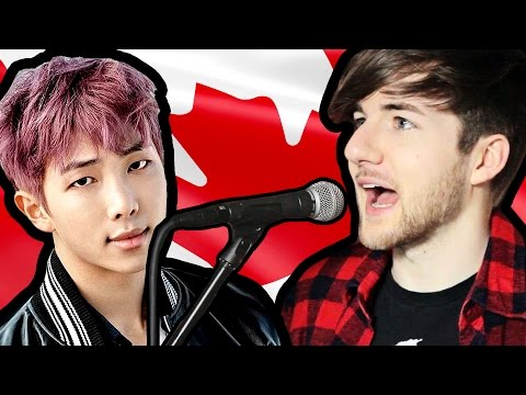 Canadian Tries To Sing K-POP | (BTS 방탄소년단 - Not Today)
