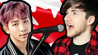 Canadian Tries To Sing K-POP | (BTS 방탄소년단 - Not Today) Mp3