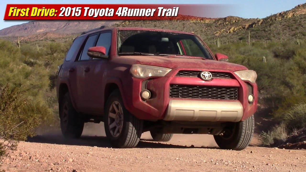 First Drive 2015 Toyota 4runner Trail Youtube