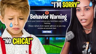 I Got a 6 Year Old BANNED (Fortnite - Battle Royale) Chica