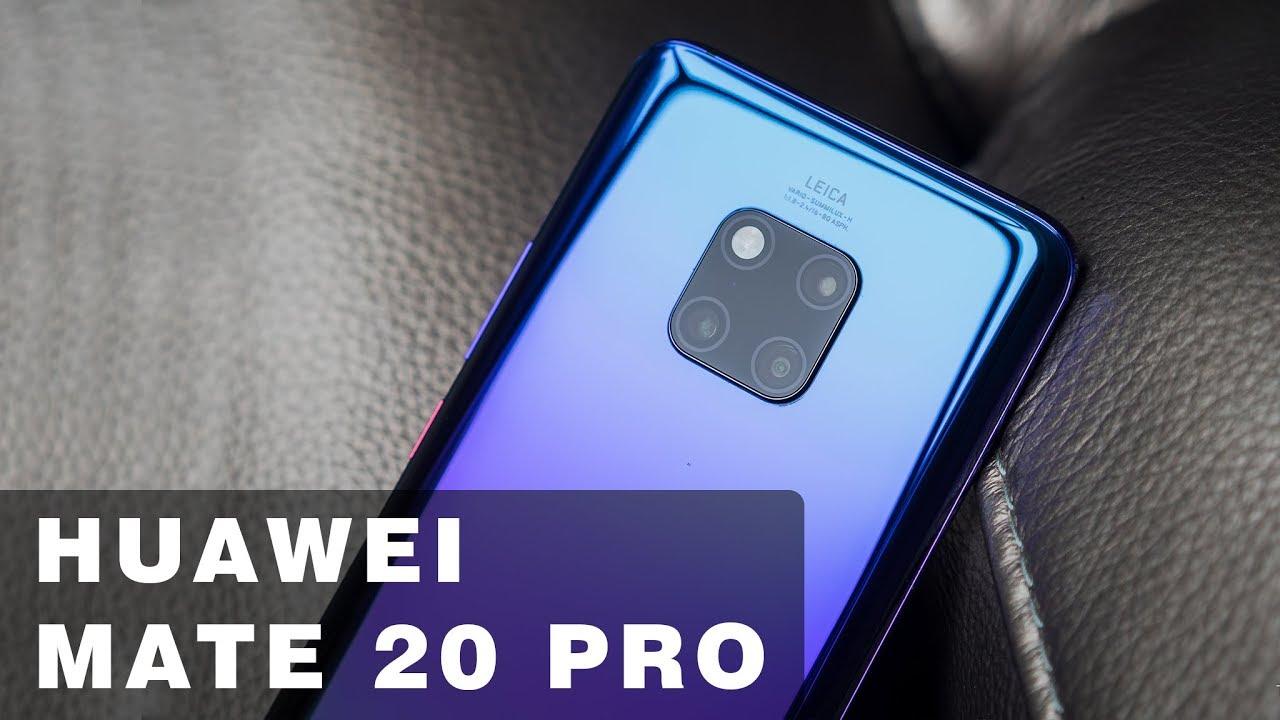 Huawei Mate 20 Pro Twilight hàng hiếm không bán ở Việt Nam