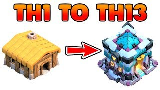 New COC TH1 to TH13 Within 1 Hour 2020 Clash of Clans | Eridanus Gaming