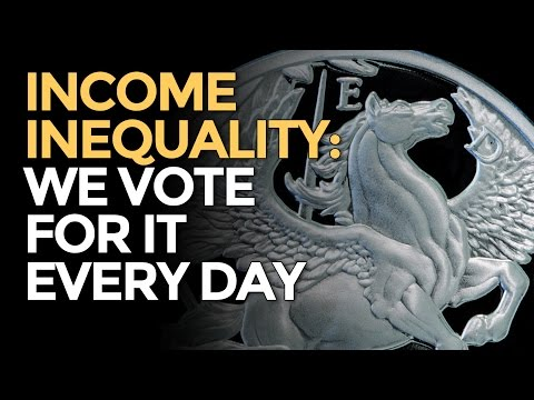 We Vote For Income Inequality With Our Wallets Every Day - M