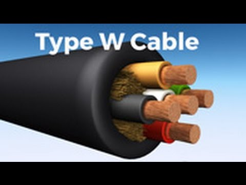 Type W Cable: Allied Wire & Cable Product Spotlight - YouTube