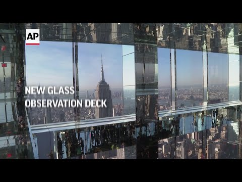New glass observation deck opens to public in NYC