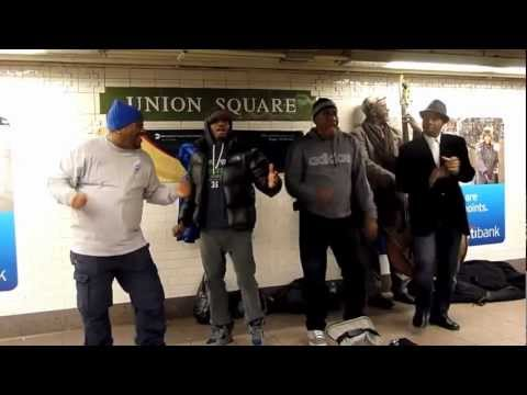 Do You Love Me - Spank cover, Union Square NYC subway.mp4