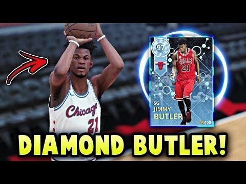 NBA 2K18 DIAMOND 97 OVERALL JIMMY BUTLER GAMEPLAY! | THE BEST DIAMOND GUARD IN NBA 2K18 MyTEAM!!