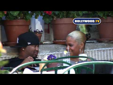 Christina Milian And Boyfriend Relax Together At The Ivy