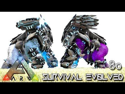 ARK: SURVIVAL EVOLVED - BREEDING MUTATION BOKITO TEK MEGAPITHECUS E80 !!! ( ARK EXTINCTION CORE )