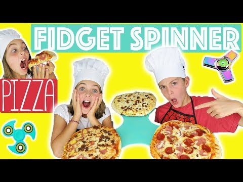 DIY GIANT Fidget Spinner Pizza | Edible Fidget Spinner | Cooking Hack | Kids Cooking and Crafts