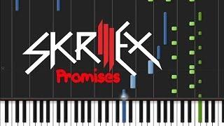 Skrillex and Nero - Promises [Easy Piano Tutorial] (♫)