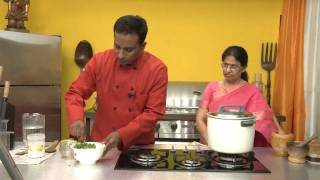 Mix Vegetable Khichdi - By VahChef @ VahRehVah.com