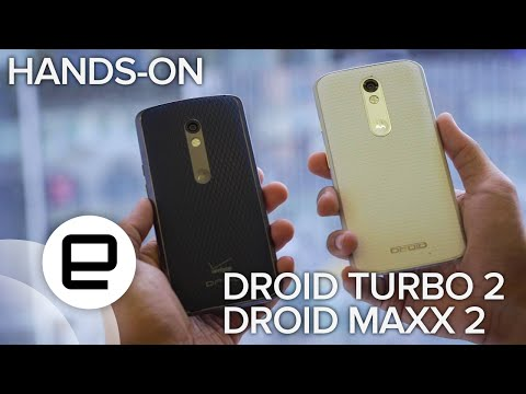 Droid Turbo 2 and Droid Maxx 2 Hands-on