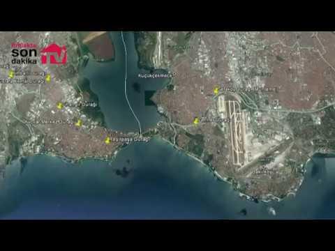 Sefaköy-Beylikdüzü Tüyap metrosunun güzergahı!