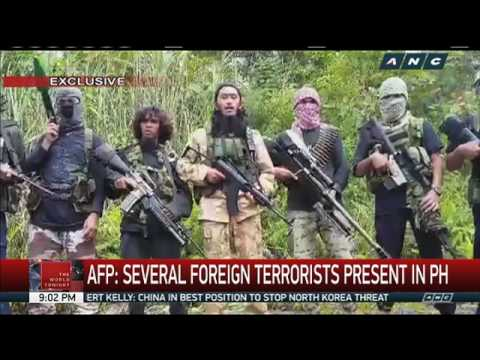Foreign terrorists present in PH, AFP warns