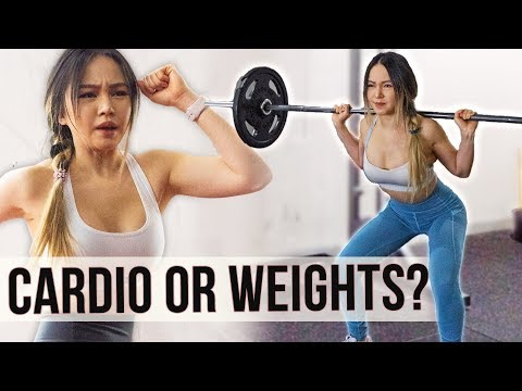 Cardio or Weights | Which BURNS more calories? ��