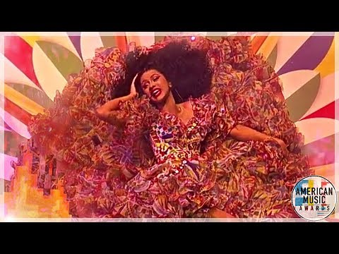 Cardi B 🔥 I Like It ☇ Performance Cheez Masters Kai American Music Awards 2018