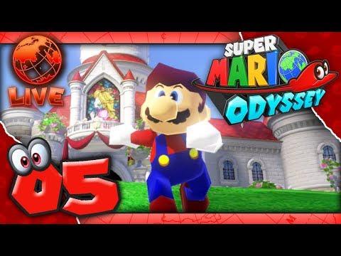 Super Mario Odyssey - Part 5 - LIVE