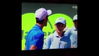Djokovic gets a warning after scaring a ball boy at Miami Open vs Murray
