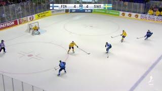 Manninen Wins It For Finland in OT