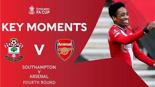 فيديو يوتيوب | شاهد اهداف ارسنال وساوثامبتون في كأس الاتحاد الانجليزي - ميركاتو داي