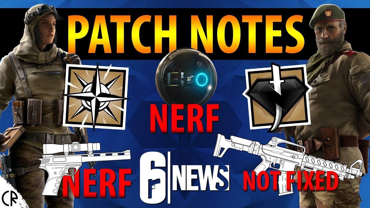 Y3S4 1 PATCH NOTES - Wind Bastion - 6News - Tom Clancy's Rainbow Six Siege