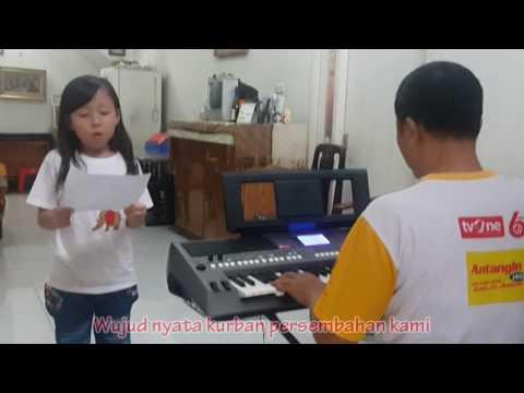 Lagu Persembahan Kuhaturkan Persembahan by Jessica