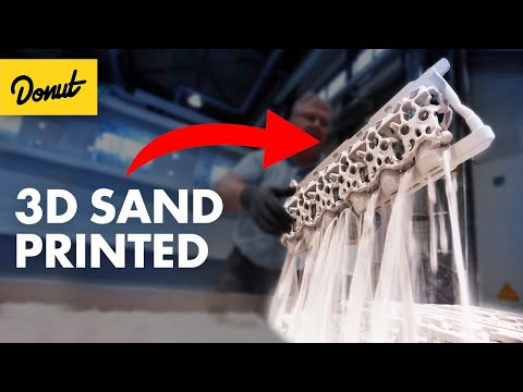 Why F1 Engines are Built with Sand - Donut Media