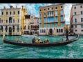 4K Beautiful Venice Italy,  Best Italian,  Instrumental  Romantic , Relaxing