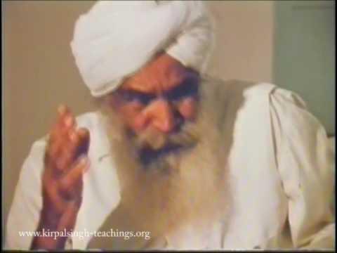 Sant Kirpal Singh Interview Manav Kendra pt1