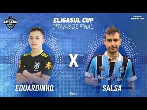 JOGO VOLTA - EDUARDINHO -PR  -X-  SALSA-RS | ELIGASUL CUP 2020 - OITAVAS DE FINAL