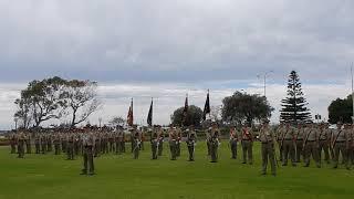 2017 October 21 Bunbury Army Reserve 11/28th Battalion DSCN9595