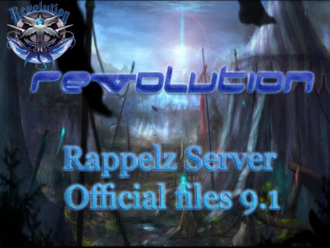Revolution server rappelz with official 9.1 files