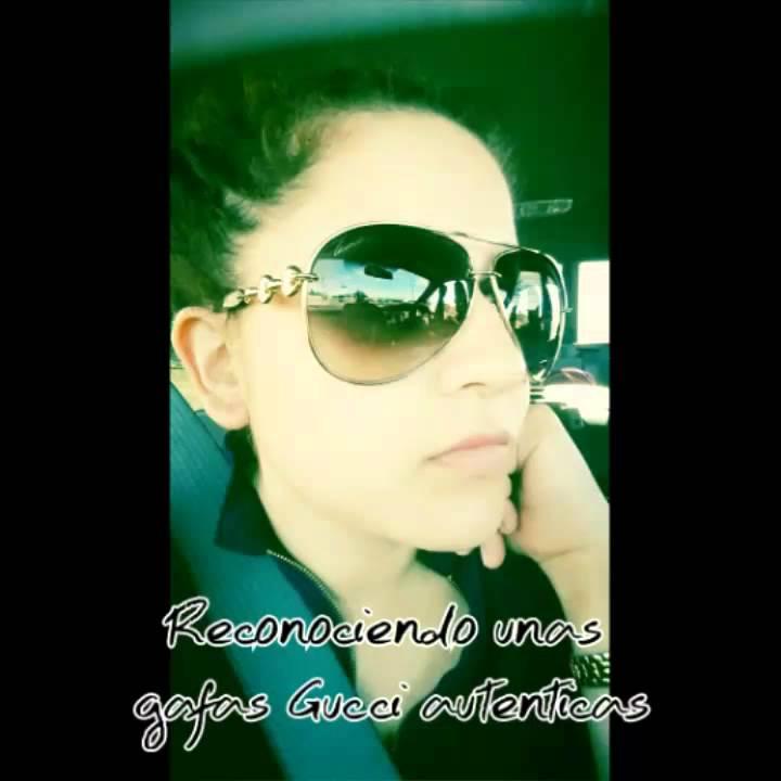 fad9280573 Como reconocer gafas Gucci autenticas - YouTube