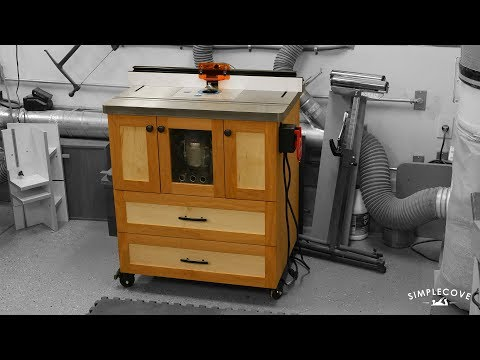 The Ultimate Router Table | Woodworking How-To
