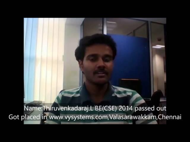TCDC - 100% Placement Proven History - Thiruvenkat - IOS App Development Course