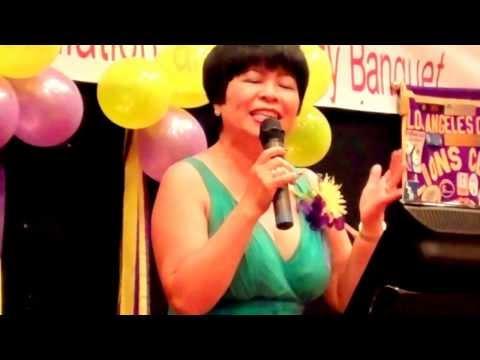 LA Chinese Lions Karaoke Singing Michelle 30June2013