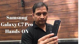 Samsung Galaxy C7 Pro Hands-On