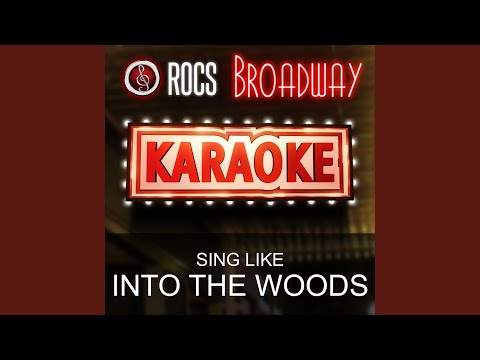Agony Reprise (In the Style of into the Woods) (Karaoke Instrumental Version)