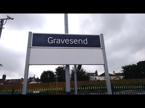 Full Journey on Southeastern from Gravesend to London Charing Cross (via Sidcup)