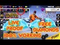 FREE DIAMONDS IN FREE FIRE | LIVE PROOF | 100% WORKING METHOD [Hindi] EP-1