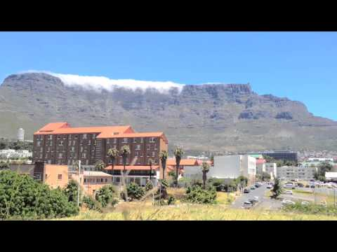 Table Mountain from Castle of Good Hope