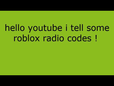 roblox radio codes fnaf