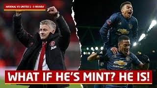 Solskjaer Is Mint! Arsenal 1-3 Manchester United   #UnitedReview   Post Match Review and Analysis